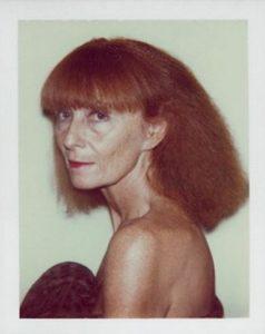Sonia Rykiel par Andy Warhol