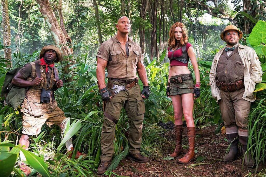 Jumanji Reboot, capture Instagram